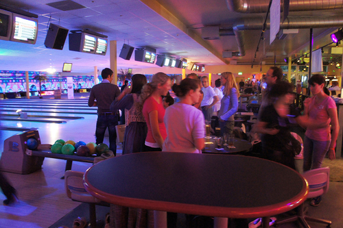 Bowling Party als Firmenevent