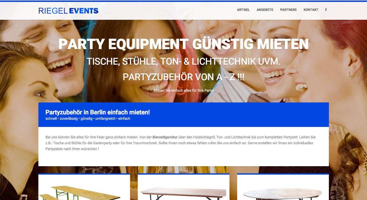 Event-Equipmentverleih Berlin günstig