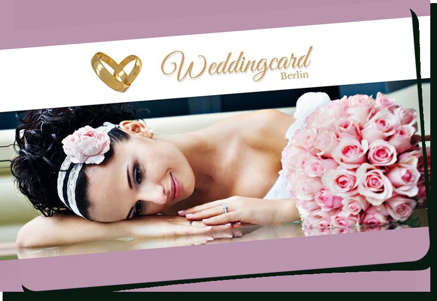 Die Weddingcard für Berlin - sparen Sie bei der Hochzeit