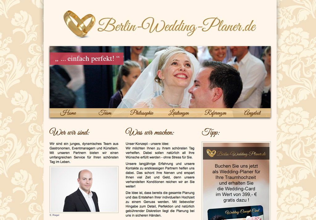 Ihr Weddingplaner in Berlin